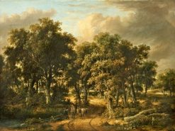 A Wooded Landscape | James Stark | Oil Painting
