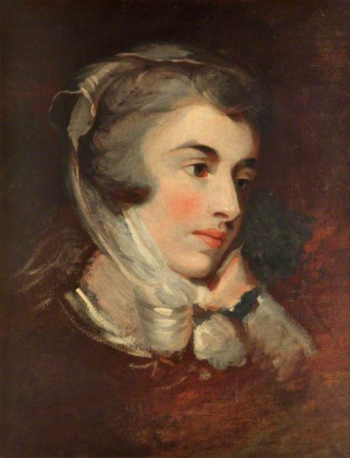 Head of a Woman | John Hoppner | Oil Painting