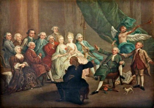 A Poet Declaiming His Verses | Pietro Longhi | Oil Painting
