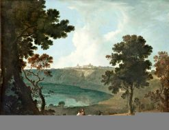 Lake Albano and Castelgandolfo | Richard Wilson