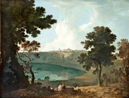 Lake Albano and Castelgandolfo | Richard Wilson