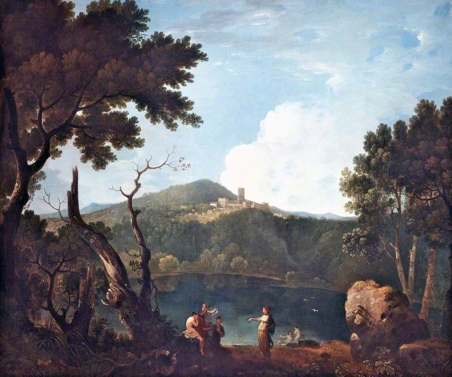Landscape with Diana and Callisto | Richard Wilson