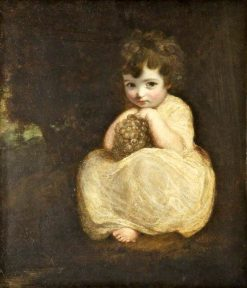 Lady Gertrude Fitzpatrick | Sir Joshua Reynolds | Oil Painting