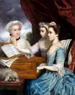 Mrs James Paine and Misses Charlotte and Mary Paine | Sir Joshua Reynolds | Oil Painting