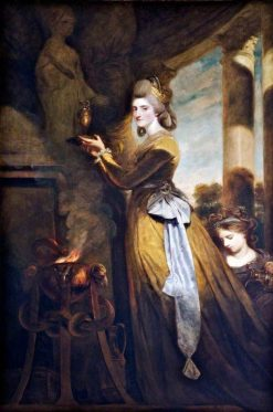 Mrs Peter Beckford | Sir Joshua Reynolds | Oil Painting