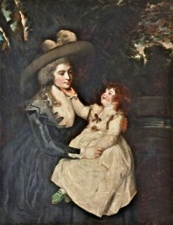 Mrs Seaforth and Child | Sir Joshua Reynolds | Oil Painting