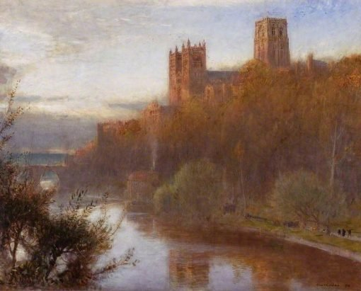 Durham Cathedral | Albert Goodwin | Oil Painting
