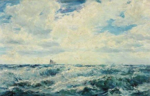 Broken Weather on the North Coast of Cornwall | Henry Moore | Oil Painting