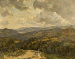 Welsh Hills near Barmouth | Herbert Hughes Stanton | Oil Painting