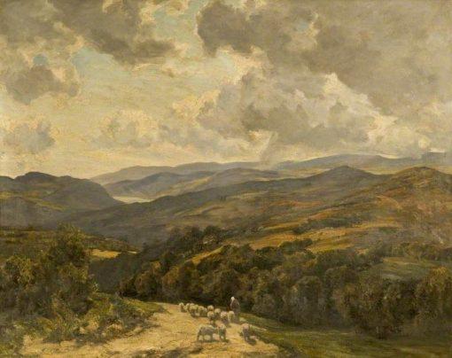 Welsh Hills near Barmouth | Herbert Hughes Stanton | Oil Painting