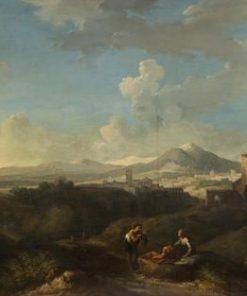Campagna Landscape | Jan Frans van Bloemen | Oil Painting