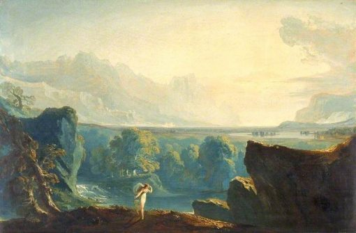 Clytie | John Martin | Oil Painting