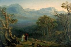Edwin and Angelina | John Martin | Oil Painting