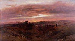 Solitude   John Martin   Oil Painting