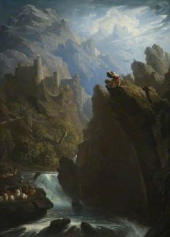 The Bard | John Martin | Oil Painting