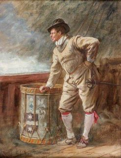 The Drum Watch | John Seymour Lucas | Oil Painting