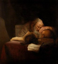 A Philosopher | Salomon Koninck | Oil Painting