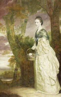 Mrs Elizabeth Riddell | Sir Joshua Reynolds | Oil Painting