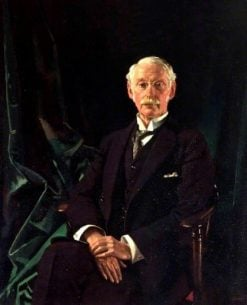 Sir Charles Algernon Parsons | Sir William Orpen | Oil Painting