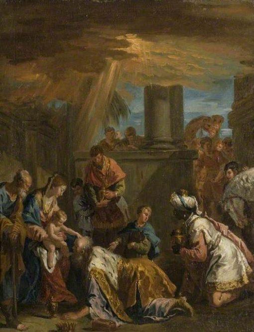 Adoration of the Magi   Sebastiano Ricci   Oil Painting