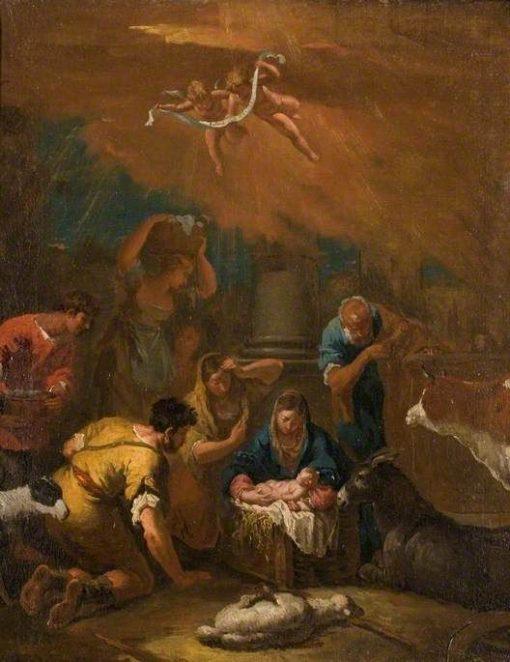 The Nativity   Sebastiano Ricci   Oil Painting