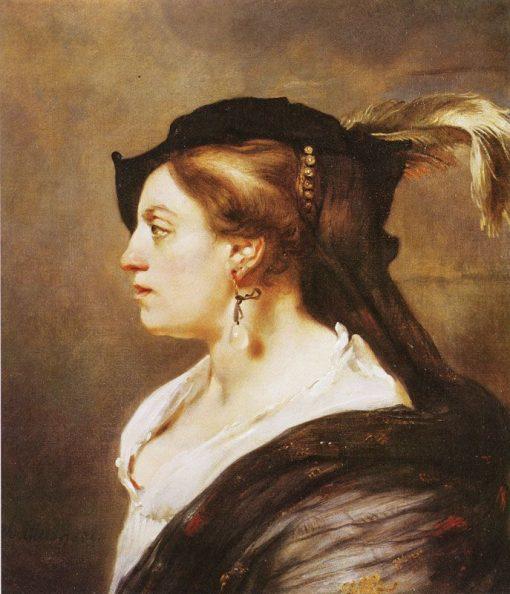 Portrait of a Lady | Carel Fabritius | Oil Painting