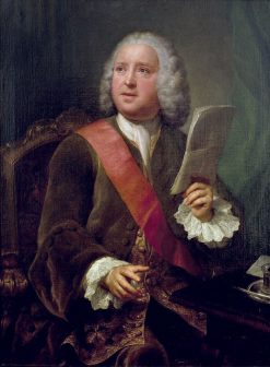 Portrait of Charles Hanbury Williams | Anton Raphael Mengs | Oil Painting