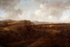 Landscape with Windmill | Jan Vermeer van Haarlem | Oil Painting