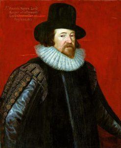 Portrait of Francis Bacon | Paulus van Somer I | Oil Painting