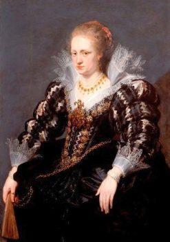 Portrait of Jacqueline de Caestre | Peter Paul Rubens | Oil Painting