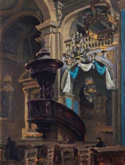 The Pulpit | Roger Eliot Fry | Oil Painting