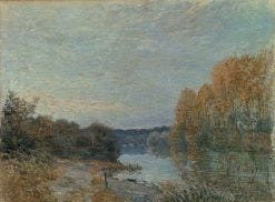 Soleil Couchant | Alfred Sisley | Oil Painting