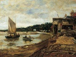 Low Tide | Jacob Maris | Oil Painting