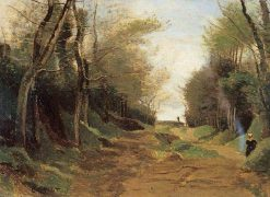 Sous bois | Jean Baptiste Camille Corot | Oil Painting
