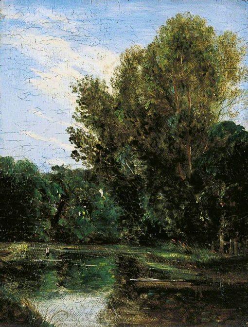 A Corner of Hampstead Ponds