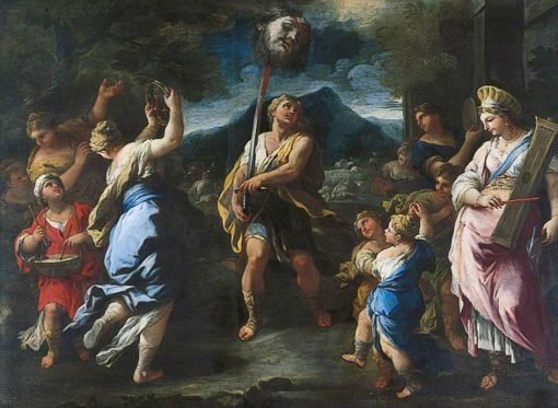 The Triumph of David | Luca Giordano | Oil Painting
