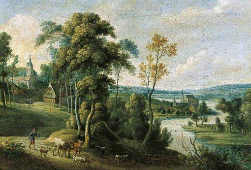 Landscape | Lucas van Uden | Oil Painting