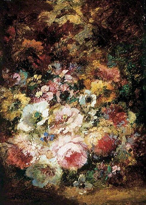 Flowers | Narcisse Dìaz de la Peña | Oil Painting