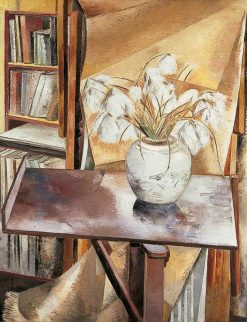 Still Life with Bog Cotton | Paul Nash | Oil Painting