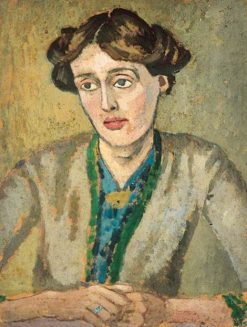 Virginia Woolf (1882-1941) | Roger Eliot Fry | Oil Painting