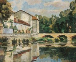The Bridge House | Roger Eliot Fry | Oil Painting