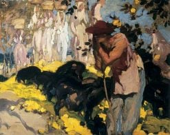 Sketch for 'The Prodigal Son' | Sir Frank William Brangwyn | Oil Painting
