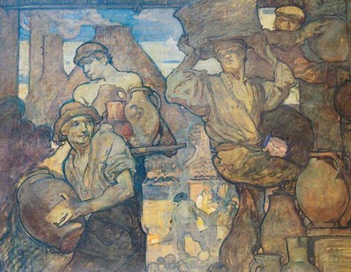 The Potters | Sir Frank William Brangwyn | Oil Painting