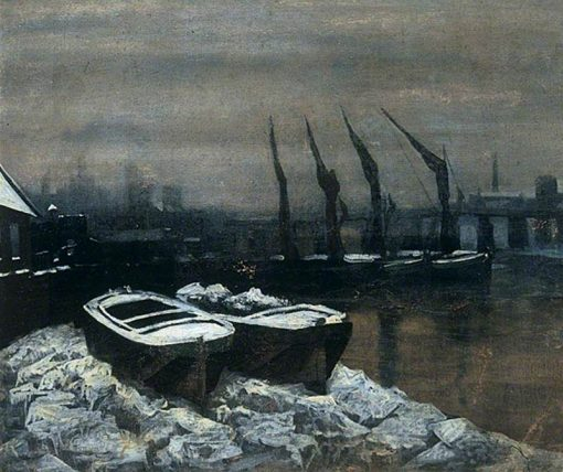 The Frozen Thames | Walter Greaves | Oil Painting