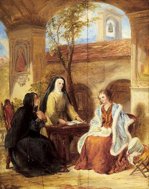 The World (The Cloister) | William Collins | Oil Painting