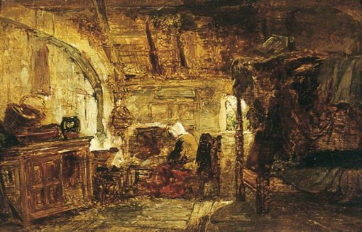 Interior of a Cottage | William James Muller | Oil Painting