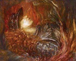Brynhild   George Frederic Watts   Oil Painting