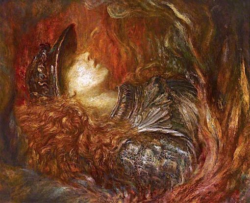 Brynhild | George Frederic Watts | Oil Painting