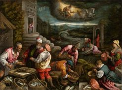 The Element of Water | Francesco Bassano the Younger | Oil Painting