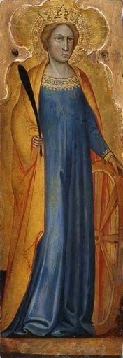 Saint Catherine | Andrea di Bartolo | Oil Painting
